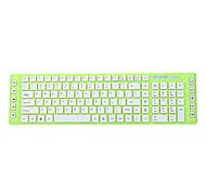 JEWAY JK-8226 USB con cable de Chocolate Fashion Super-delgado teclado multimedia Verde