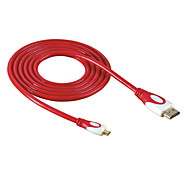 HD-143-RE Micro HDMI a HDMI 1.4 Cable HDTV para DC DV Tablet