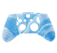 Silicone Skin Case for XBOX ONE (Blue + White)