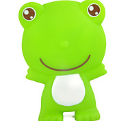 Visual Lovely Sounding Green PVC Frog Bath Toy