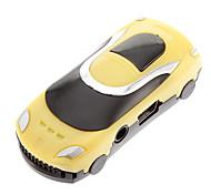 TF carro em forma Leitor MP3 Car Jogador Forma Amarelo