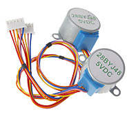 DC 5V 28YBJ-48 Stepper Motor for (For Arduino) ((Works with Official (For Arduino) Boards /2 PCS)