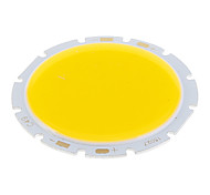 15W COB 1500LM 3000K Warm White Light LED Chip (48-54V)