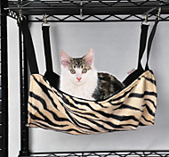 Fashionable Zebra or Leopard Pattern Bed for Pets Dogs (Assorted Colors)