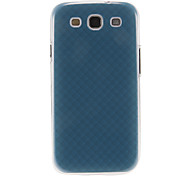 Dark Blue Pattern Plastic Protective Hard Back Case Cover for Samsung Galaxy S3 I9300