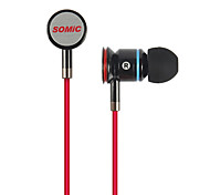 Somic MH405 Stereo-Designed Sonder Modische Musik In-Ear-Kopfhörer mit Mikrofon für MP3/iPad/iPhone/MP4