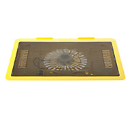 "N19 143mm Super Silent High Performance Laptop Cooling Fan (Up to 14"" Inch)Yellow"