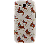 Cute Dogs Pattern Plastic Protective Hard Back Case Cover for Samsung Galaxy S3 I9300