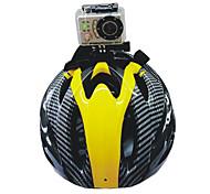 Defery_High Qualidade Helmet Holder Para Câmeras Gopro