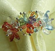 multicolore portatovagliolo acrilico set di 1