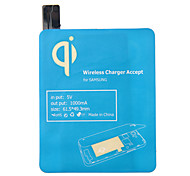Blue Qi Standard Wireless Charging Receiver Pad For Samsung Galaxy S4