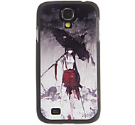 Anime Figure Print Plastic Protective Case for Samsung Galaxy S4 i9500