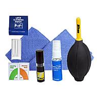 7-in-1 Lens kit di pulizia per Canon / Nikon / Pentax / Sony Air Brower morbido panno pulito (colore casuale)