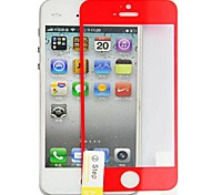 Angibabe Russian Spanish Engish Version Multicolour Premium Tempered Glass Series protector for iPhone 5 / 5S
