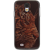 Leopard Painting Pattern Aluminium Hard Back Case Cover for Samsung Galaxy S4 I9500