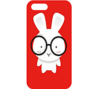 Lovely Cartoon Rabbit Pattern Back Case for iPhone 5