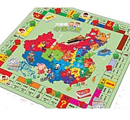 Funny Chinese Trip Kids' Monopoly Game Carpet
