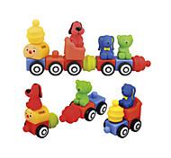 Popbo Assembly Little Bear Train Set Toy
