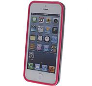 2-in-1-Design Schwarz Bumper Rahmen mit Solid Color Inside für iPhone 5C (verschiedene Farben)