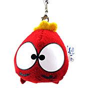 Шаблон Big Eyes Красный Плюшевые подвеска игрушек