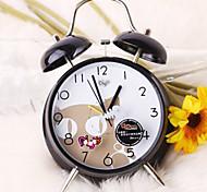 "5.9 ""Modèle H Cat Mute Metal Alarm Clock"