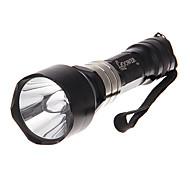 Monomodo Cree XP-E Q5 LED Flashlight (240LM, 1x18650, Negro)