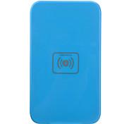 Qi Wireless Charger Blue Pad ricarica con ricevitore blu per Samsung Galaxy Nota 2 N7100