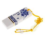 4GB Blue and White Porcelain USB Flash Drive