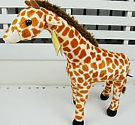 Beautiful Orange Plush Giraffe Puppet Gift