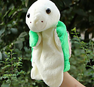 Lovely Large-sized Light Green Sea Turtle Plush Finger Puppet