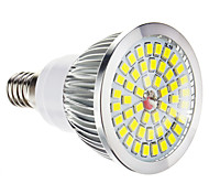 Focos Regulable E14 W 48 SMD 2835 LM 6000-7000 K Blanco Fresco AC 100-240 V