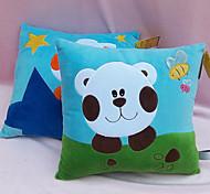 Soft Colorful Cat-printed Square Plush Back Cushion Gift
