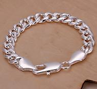 Классические 20см Женская Сплав серебра цепи и ссылка браслет (1 шт)