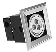 3 W 3 High Power LED 300 LM Cool White Recessed Lights AC 85-265 V