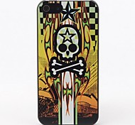 Skull with Star Style Protective Hard Back Case for iPhone 5/5S