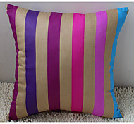 Stylish Colorful Stripe Decorative Pillow With Insert