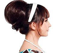 Woman Fashion High Quality Bun Synthetic Hairpiece Hair Extend 3 Colors Available