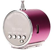 TD-V36 Mini Speaker Поддержка TF / SD / USB