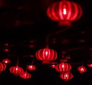 10m 80-LED-Novel-Festival-Dekoration String Nebelscheinwerfer Rot (220V)