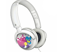 Over-Ear Headphones with Bass Sound for Ipod(White)