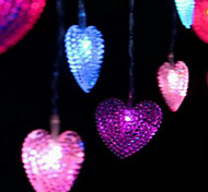 4m 20-LED heart shape lamp Marriage Room Decoration Decorative Accessories
