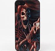 Дело Скелет Стиль Защитные жесткие дело на iPhone 5/5S
