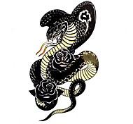 5 Stück Snake Wasserdicht Tattoo (10,5 cm * 20,5 cm) HM563
