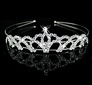 Women's / Flower Girl's Rhinestone Headpiece-Wedding Headbands Clear