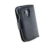 Luxury PU Leather Flip Case Cover with Card Slot And Stand for Samsung Galaxy S3 Mini I8190