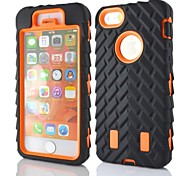 iPhone 7 Plus Zebra Heavy Duty Armor Protective Full Body Case For iPhone 5/5S