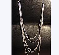 Europäische Multilayer-Troddel-Halskette