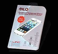 MILO High Quality Premium Tempered Glass Screen Protector with Microfiber Cloth for iPhone 4/4S