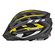 MOON Cycling Yellow PC/EPS 31 Vents One Cycling Helmet