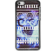 Outer Space and Glasses Pattern Aluminous Hard Case for iPhone 5C
